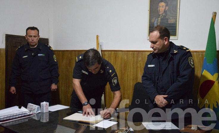 Asumieron los nuevos jefes de la Comisaría Segunda y Espigas
