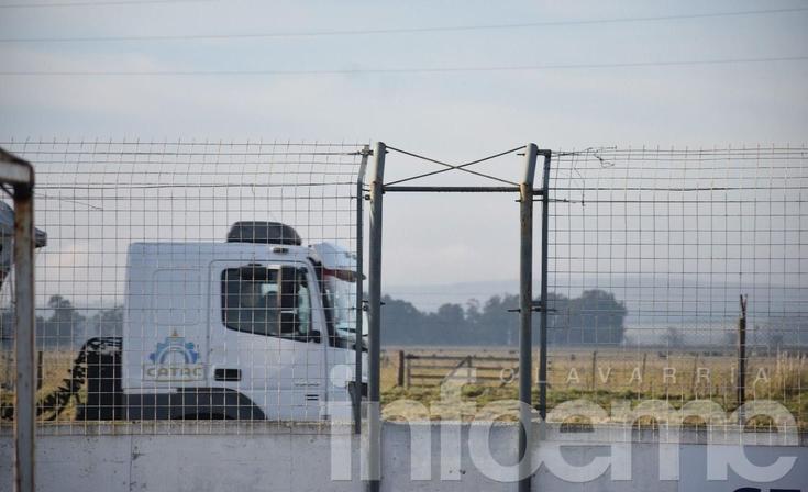 Olavarría sede de una prueba para evaluar la capacidad de carga de camiones