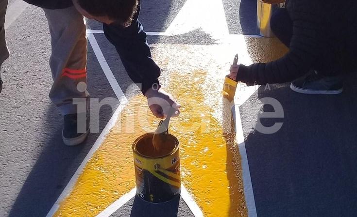 Se pintará la Estrella Amarilla Nº 141