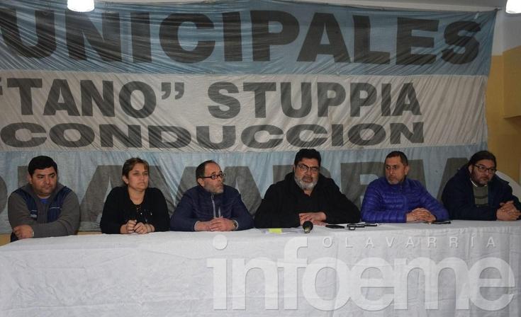 Municipales se suman al paro convocado por la CGT