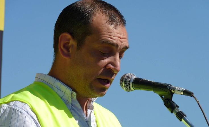 Murió Juan Crocco, referente del reclamo por la Ruta 3