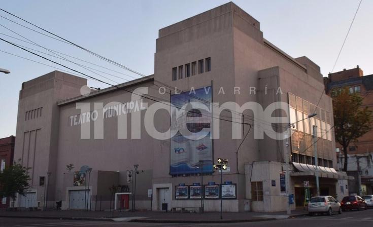 El Teatro Municipal cerrado por duelo