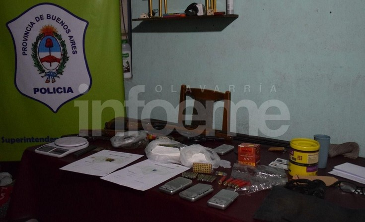 Quedará detenido el sexagenario al que le encontraron cocaína y armas