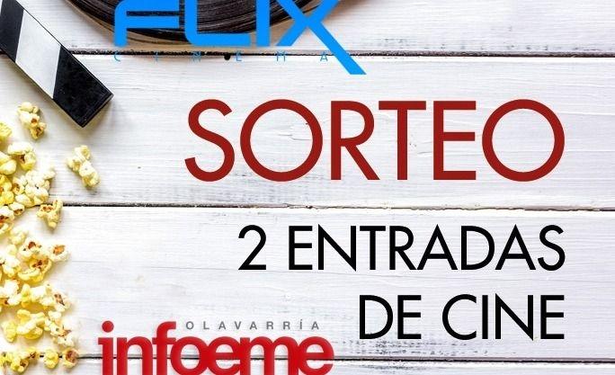 Ganá dos pares de entradas para ir a Flix Cinema Olavarría