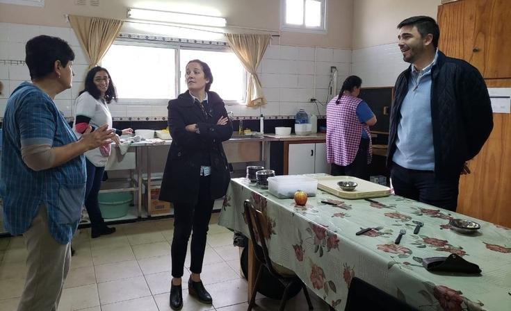 Obras de reforma en la cocina del CEC N° 804