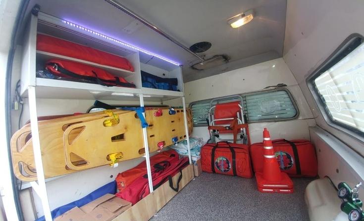 Incorporan un Vehículo de Apoyo ante Emergencias Médicas