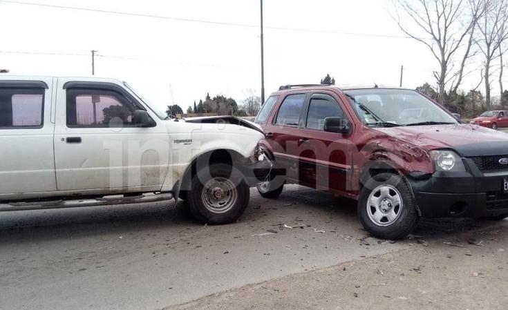 Jueves accidentado: mujer herida en tercer choque en menos de una hora