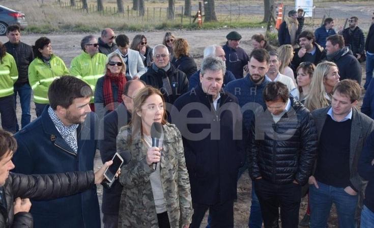 Vidal visita el Parque Industrial de Tandil