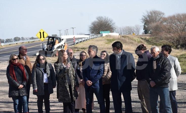 Apostillas de la breve visita de Macri en Olavarría
