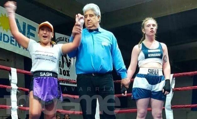 Las chicas de Barragán pelearon en Balcarce: Bertolano ganó