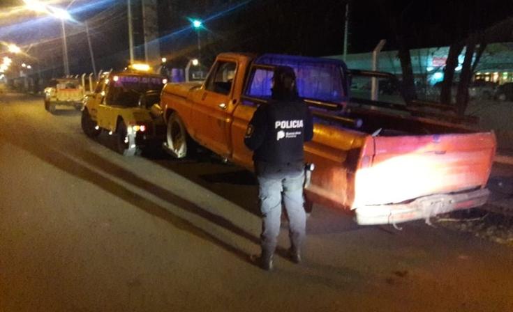 Operativo saturación: secuestraron camioneta y una moto
