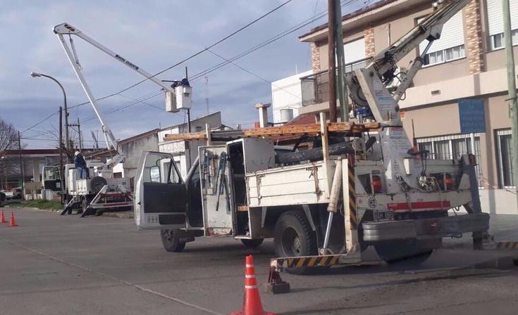 Corte de luz programado en barrio San Carlos