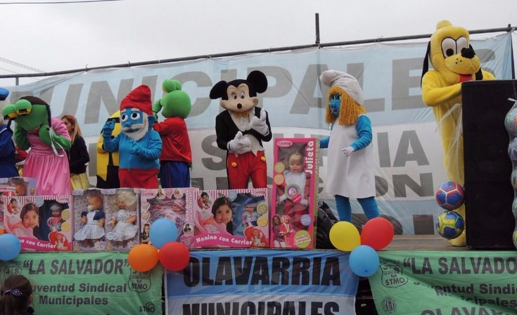 Día del Niño en el Sindicato de Municipales