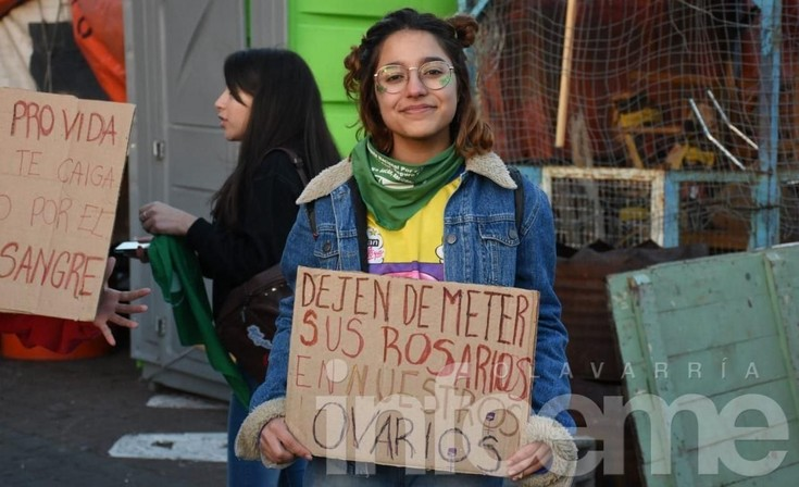 "Aborto legal: La ""marea verde"" sigue en la calle"