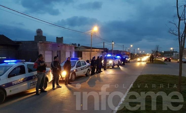 Más operativos policiales en la ciudad