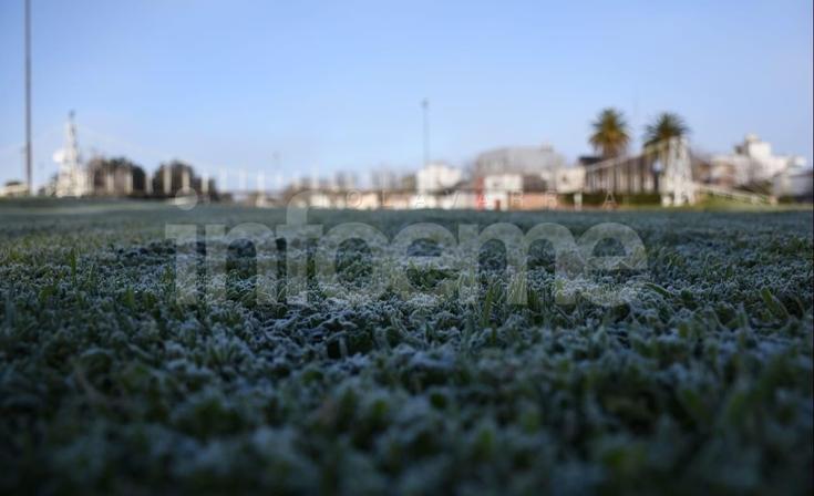 El frío se hizo sentir: Olavarría con temperaturas bajo cero