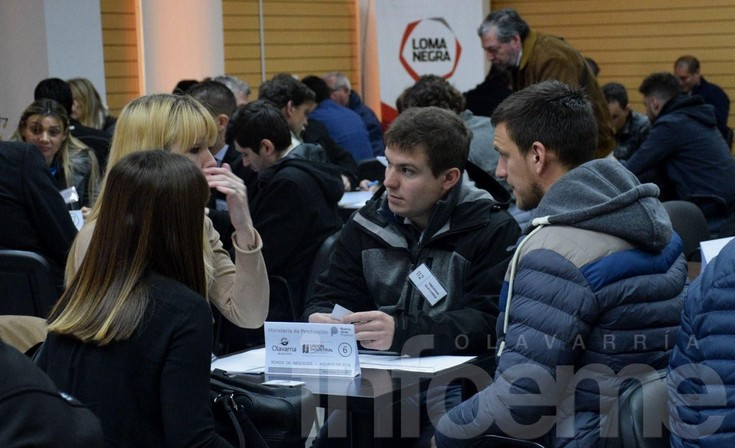Se lanzó la 3° Ronda de Negocios Multisectorial en Olavarría