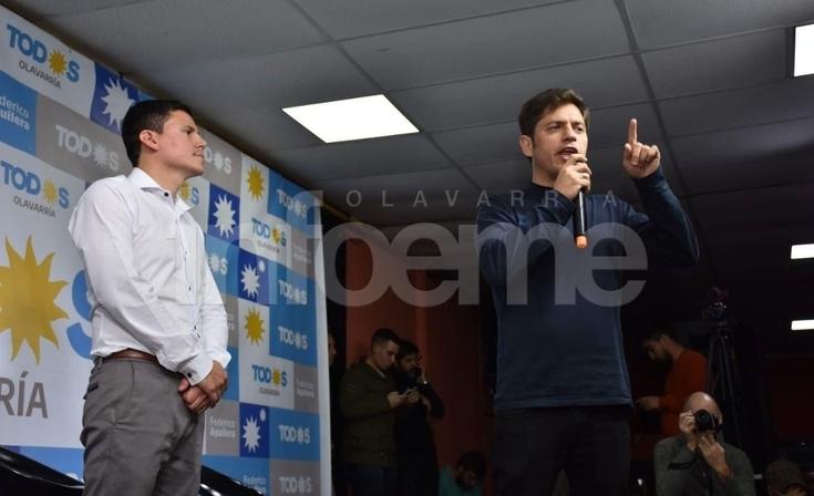 """Aguilera y la reunión con Kicillof: """"nos manifestó su alegría por el resultado en Olavarría"""""""