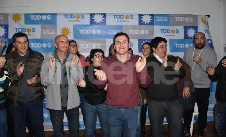 """Federico Aguilera: """"nos estamos acercando al Intendente, estamos a 3 puntos"""""""