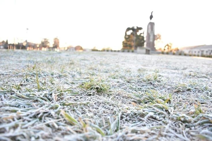 El frío no afloja: la mínima en Olavarría fue de -6 grados