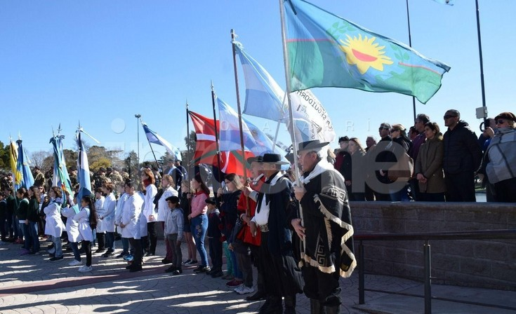 Conmemoraron el 169º Aniversario de la muerte de San Martín