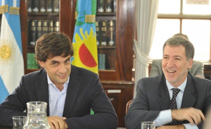El presidente Macri se reúne con Hernán Lacunza en Los Abrojos
