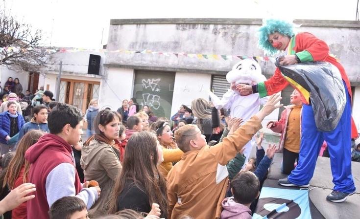 Festejos de municipales por el Día del Niño
