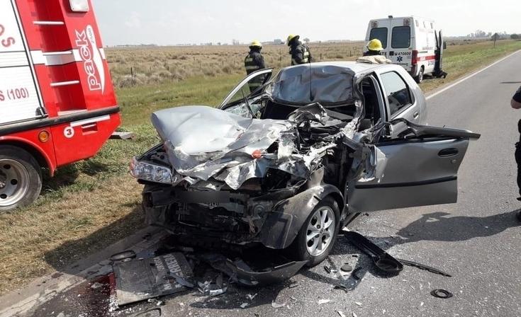 Un camionero olavarriense protagonizó un trágico accidente en Santa Fe