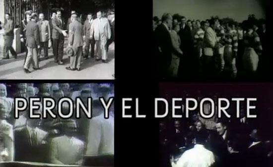 """Proyectarán este viernes """"Perón y el deporte"""""""