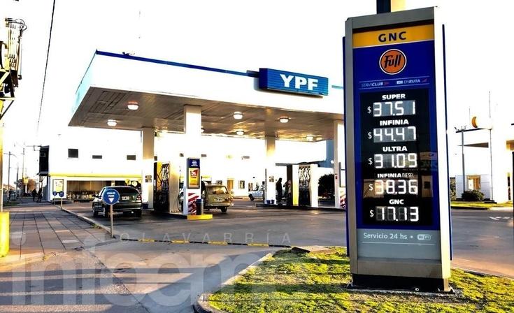 A 72 horas del último aumento, YPF volvió a subir las naftas