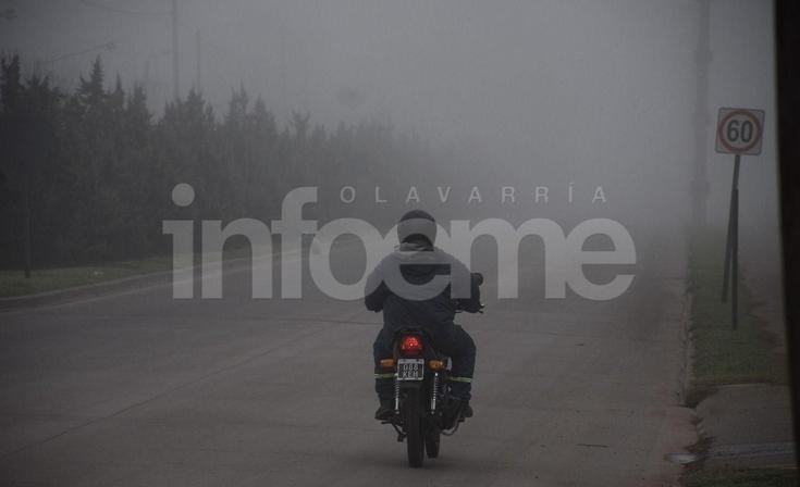 ¡Cuidado! Poca visibilidad por niebla