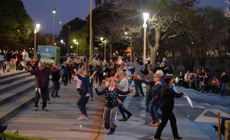 Festejaron el Día del Bailarín Folclórico