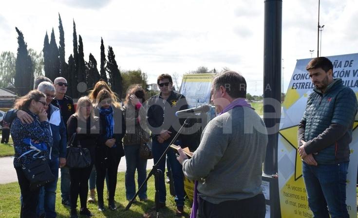 Con un emotivo acto, inauguraron un Monolito en homenaje a las víctimas de tránsito
