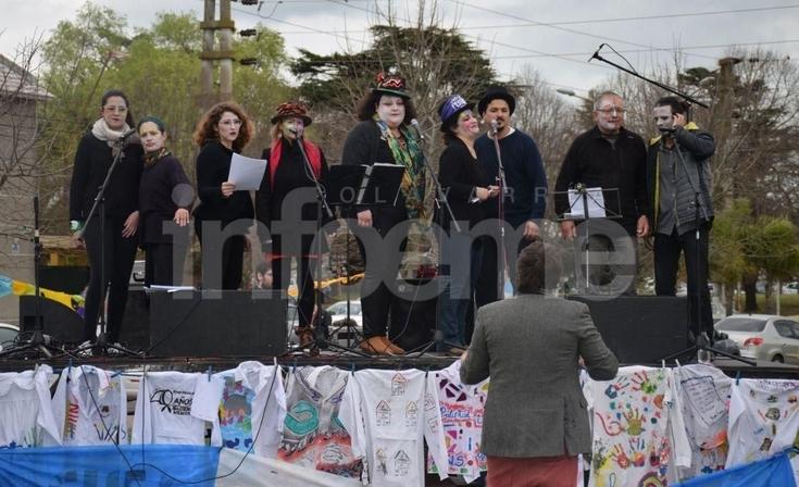 Exitoso festival por la Educación Pública en el parque