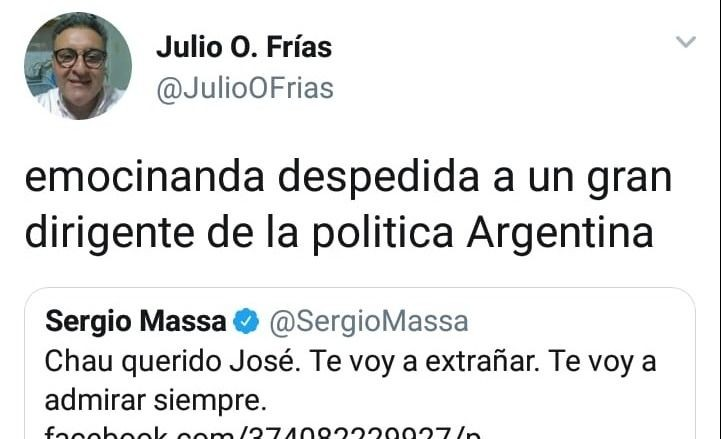 Dolor por la muerte de José Manuel de la Sota