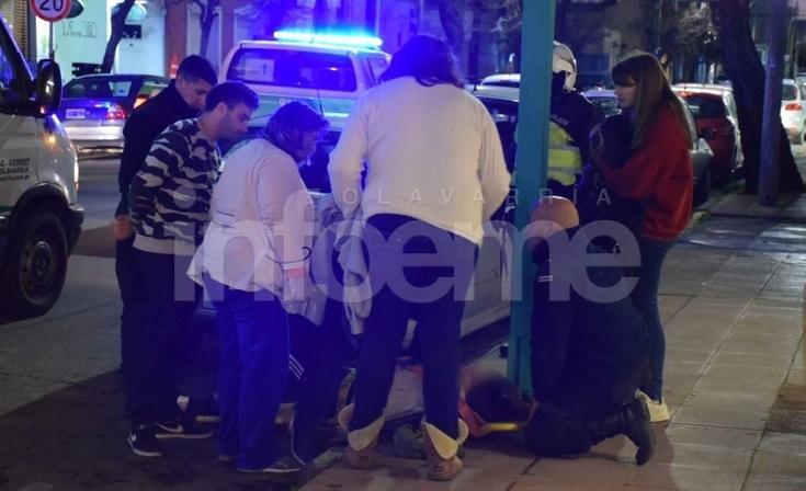 Una adolescente fue atropellada en pleno centro y resultó herida