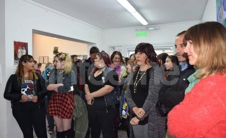Artes Visuales celebró 30 años y la lucha por el edificio propio formó parte del acto