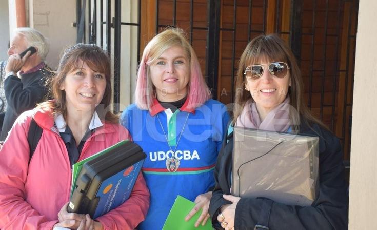Nueva jornada de lucha del FUDB en Olavarría