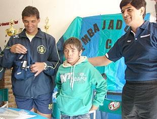 Olavarría, subsede de un campeonato de fútbol menor: Braian Guille fue confirmado para jugar dos torneos en Europa