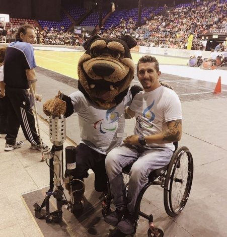 Día Paralímpico Argentino: Díaz Aspiroz fue distinguido