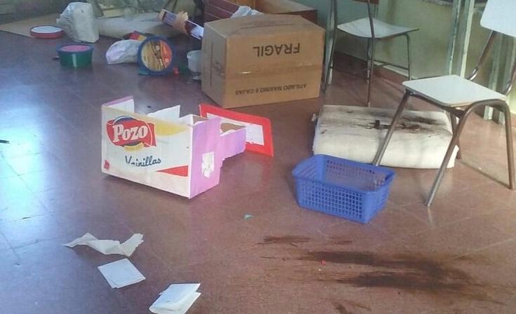 Lamentable acto de vandalismo: serios daños en la Escuela 80