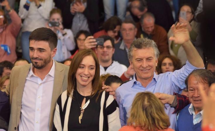 Llegan Macri y Vidal a Olavarría y harán un acto en la ruta 51
