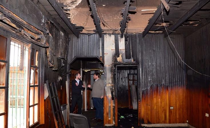 """Incendio en Desarrollo Social: """"La comunidad merece saber lo que pasó"""""""