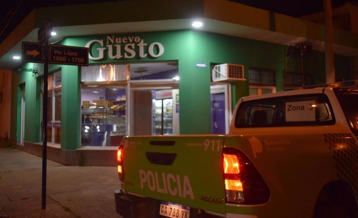 Violento asalto en una panadería del barrio San Vicente