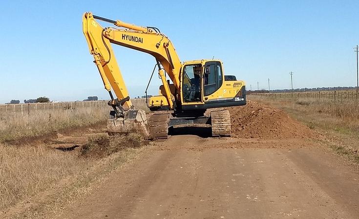 El Director de Caminos Rurales presentó el nuevo plan de obras