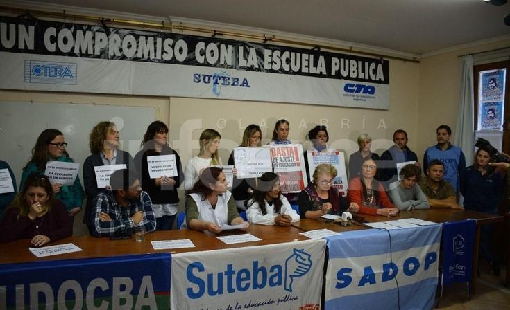Los docentes mostraron preocupación por falta de paritarias
