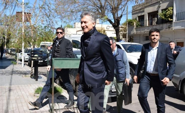 Mirá las mejores imágenes de la visita presidencial