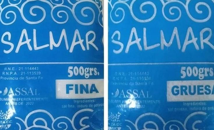 La ANMAT prohibió la comercialización de una sal y un edulcorante