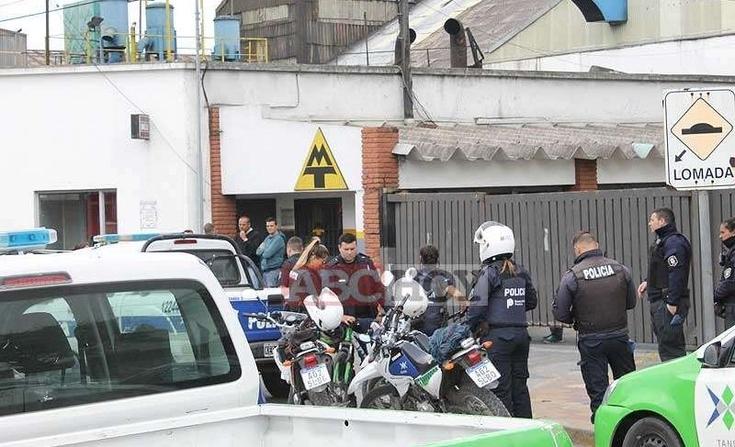 Trabajadores tomaron la fábrica Metalúrgica Tandil