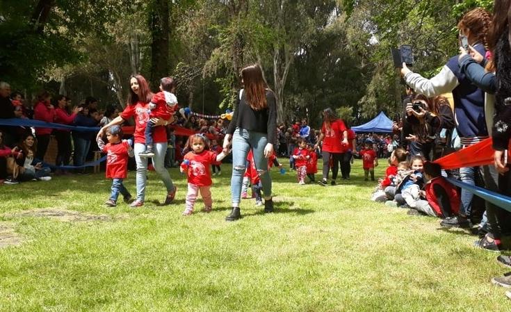 Festejo de Jardines Maternales en el Parque Helios Eseverri